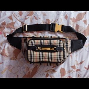 Burberry Fanny Pack Bag Unisex Pre-Owned